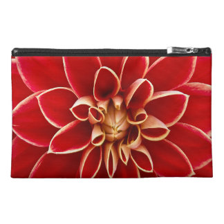 Beautiful Dahlia Flower Petals Design Travel Accessory Bag