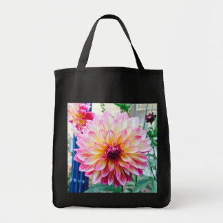 beautiful Dahlia grocery tote Grocery Tote Bag