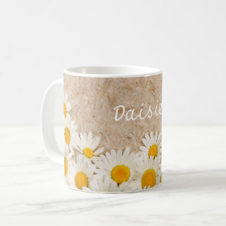 Beautiful daisies coffee mug