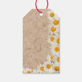 Beautiful daisies gift tags