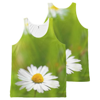 Beautiful daisy, print all over All-Over print tank top