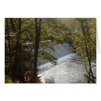 Beautiful Dam in Denmark Greeting Card