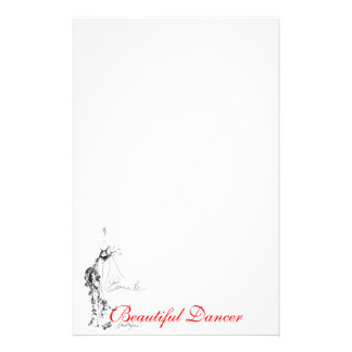 Beautiful Dancer Stationery