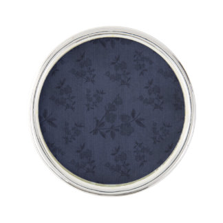Beautiful Dark Goth Victorian Vintage Wallpaper Lapel Pin