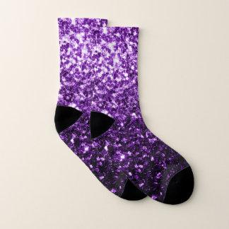 Beautiful Dark Purple glitter sparkles 1