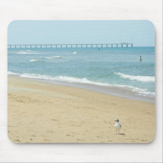 Beautiful Day at The Beach Mousepads