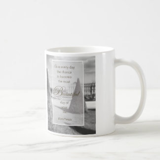 Beautiful Day quote mug