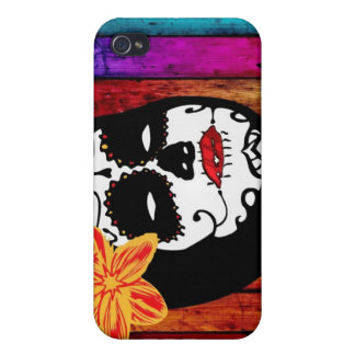 Beautiful Death - Day of the Dead Cover For iPhone 4