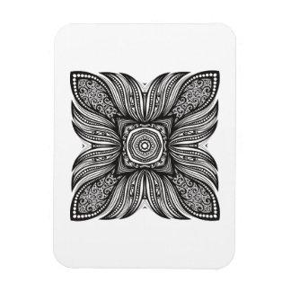 Beautiful Decor Square Doodle Magnet