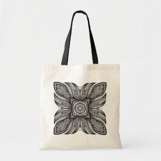 Beautiful Decor Square Doodle Tote Bag