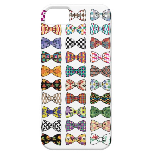 Beautiful Decorative BowTie Patterns iPhone 5 Case