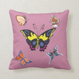 Beautiful Decorative Butterflies American MoJo Pil Throw Pillow