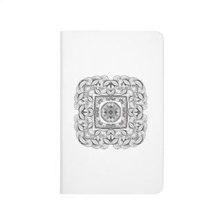 Beautiful Decorative  Square Doodle Journals