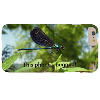 Beautiful Demoiselle Bugged iPhone Case