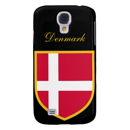 Beautiful Denmark Flag Galaxy S4 Case