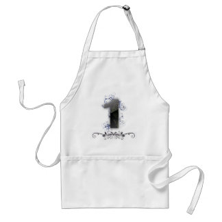 Beautiful design for the number 1 standard apron