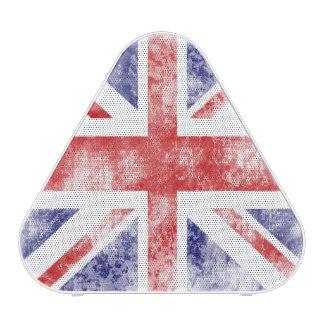 Beautiful Distressed Union Jack the U K Flag Bluetooth Speaker