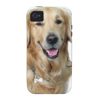 Beautiful Dog Golden Retriever and Your Bone iPhone 4 Case