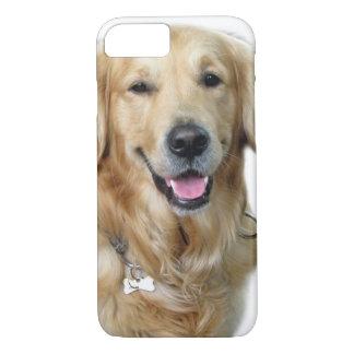 Beautiful Dog Golden Retriever and Your Bone iPhone 7 Case