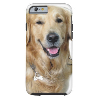 Beautiful Dog Golden Retriever and Your Bone Tough iPhone 6 Case