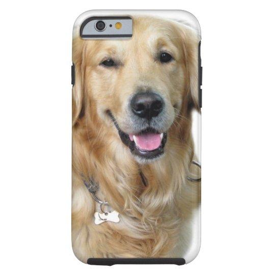 Beautiful Dog Golden Retriever and Your Bone Tough
