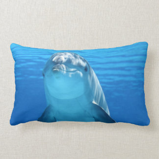 Beautiful dolphin lumbar cushion