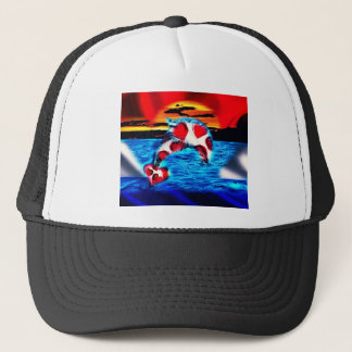 Beautiful Dolphin Trucker Hat