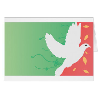 Beautiful Dove Greeting Card