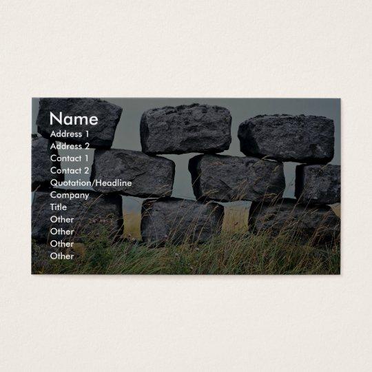 Beautiful Dry stone wall Business Card