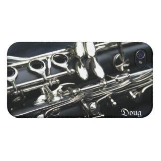 Beautiful Dual Clarinets iPhone 4 Case