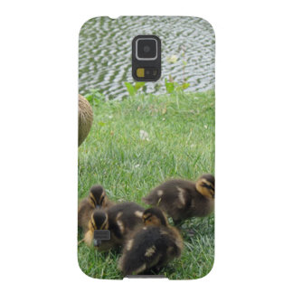 BEAUTIFUL DUCK FAMILY GALAXY S5 CASES