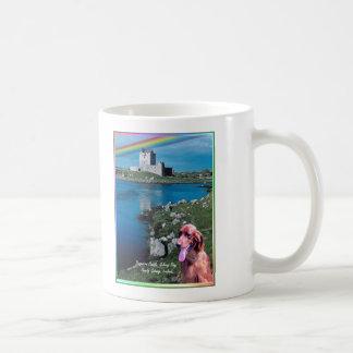 Beautiful Dunguaire Castle View Galway Bay Ireland Basic White Mug