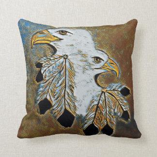 Beautiful Eagle Throw Pillow