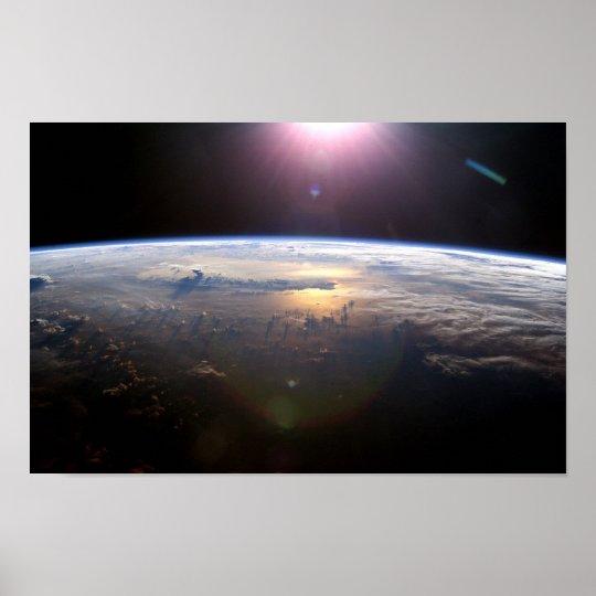 Beautiful Earth Yuri Gagarin Poster