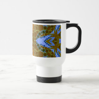 Beautiful Earthy Abstract Stainless Steel Travel Mug