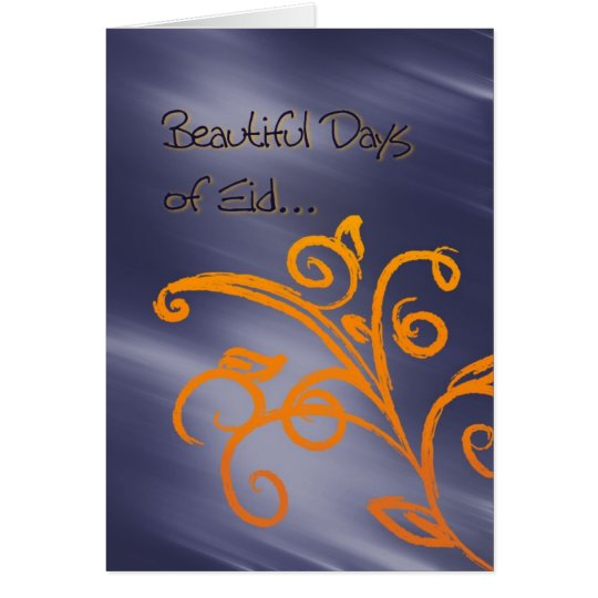 Beautiful Eid greeting card