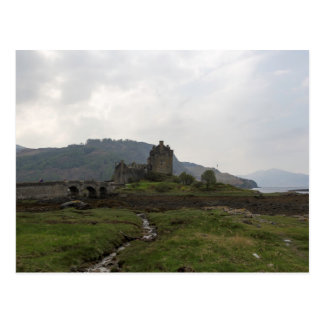 Beautiful Eilean Donan Castle in Scotland Postcard