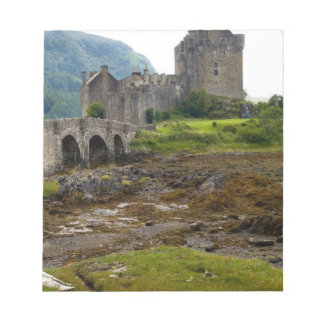 Beautiful Eileen Donan Castle in Western Dornie 2 Notepad