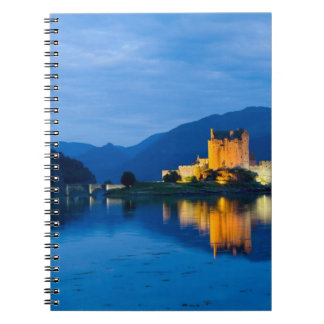 Beautiful Eileen Donan Castle in Western Dornie Notebooks