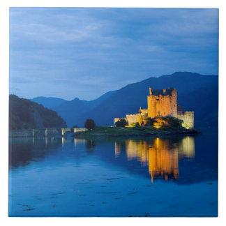Beautiful Eileen Donan Castle in Western Dornie Tile