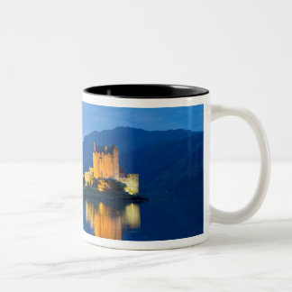 Beautiful Eileen Donan Castle in Western Dornie Two-Tone Coffee Mug