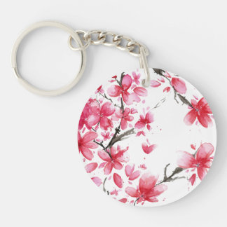 Beautiful & Elegant Cherry Blossom Keychain