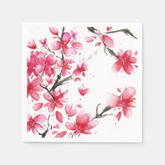 Beautiful & Elegant Cherry Blossom   Napkin Paper Napkins
