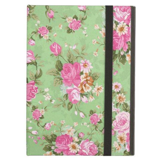 Beautiful elegant girly vintage roses flowers iPad air