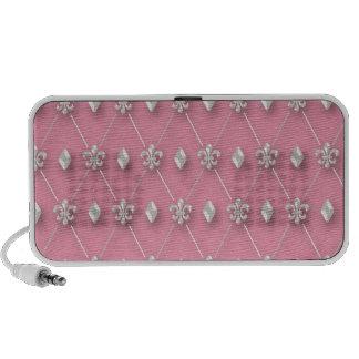 Beautiful Elegant Pearls Portable Speaker