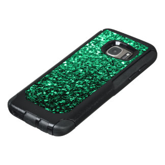 Beautiful Emerald Green glitter sparkles OtterBox Samsung Galaxy S7 Case
