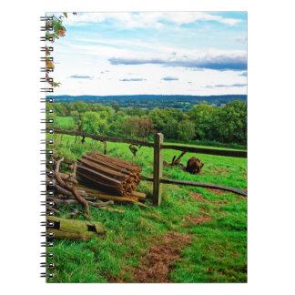 Beautiful English Countryside Notebook