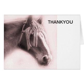 Beautiful Equine Greeting Card
