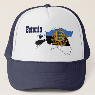 Beautiful Estonia Hat! Trucker Hat