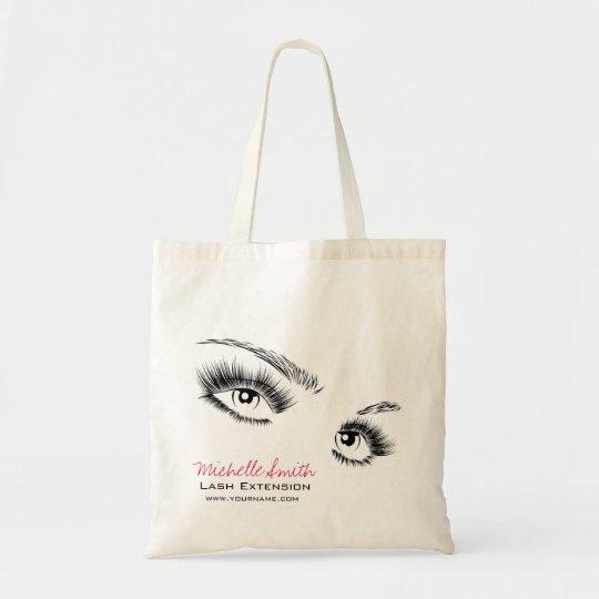 Beautiful eyes Long lashes Lash Extension Tote Bag